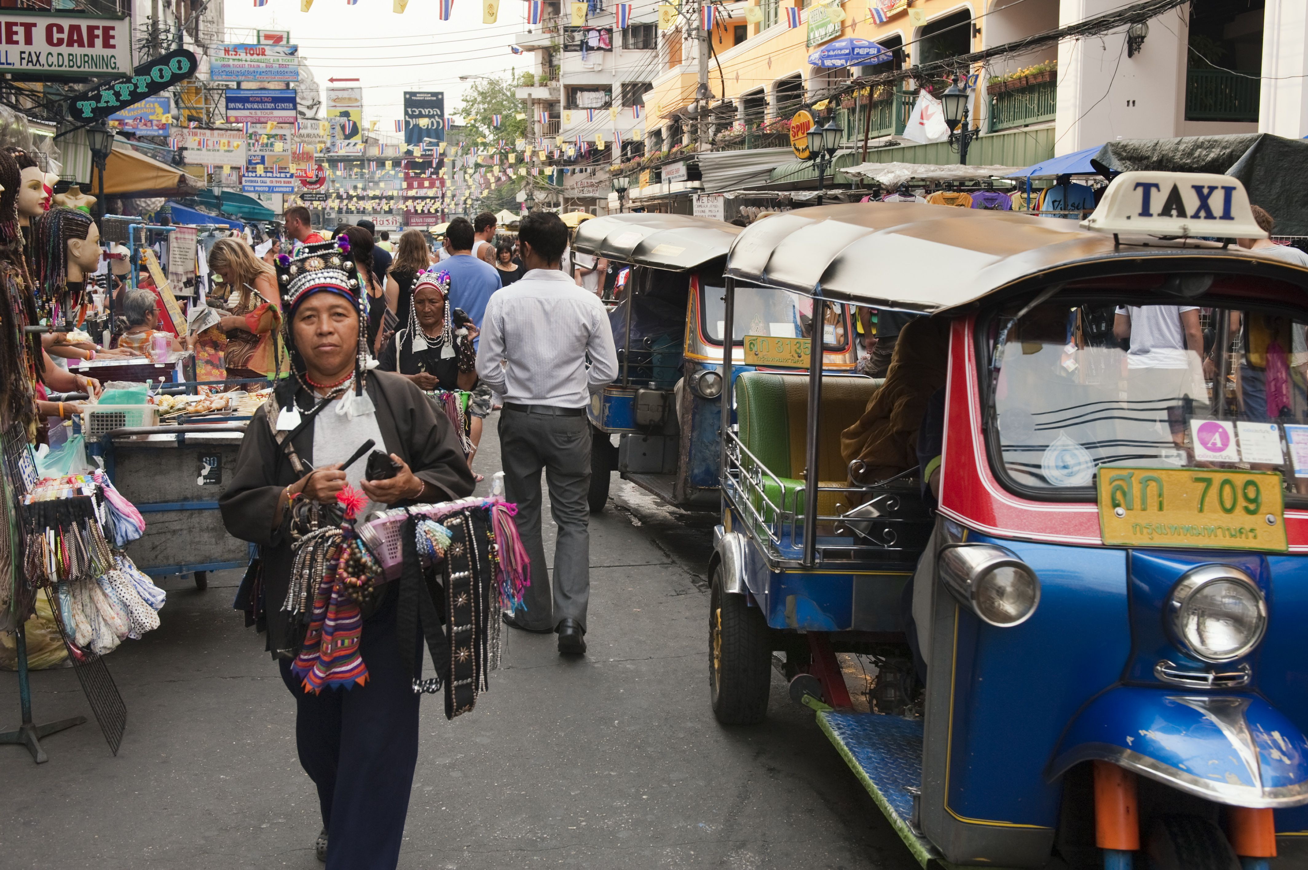 Koh San Or Khao San Road In Bangkok Which Is Correct