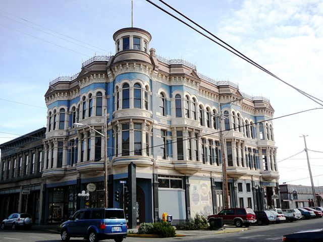 The Hastings Building in Port Townsend