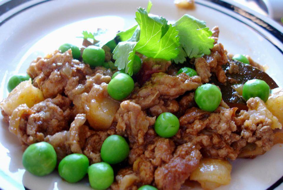 A plate of masala kheema