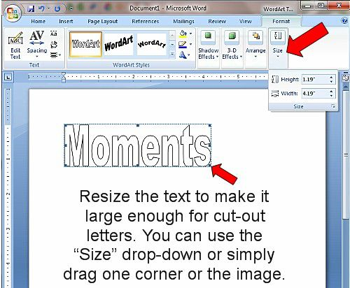letter microsoft word