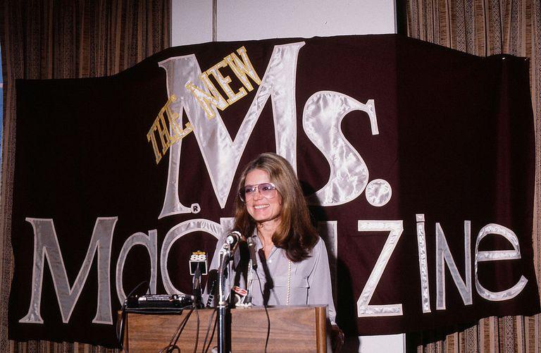 Gloria Steinem, feminista y fundadora de 'Ms. Magazine'.