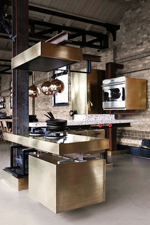 Contemporary classic kitchen design for High end kitchens designs