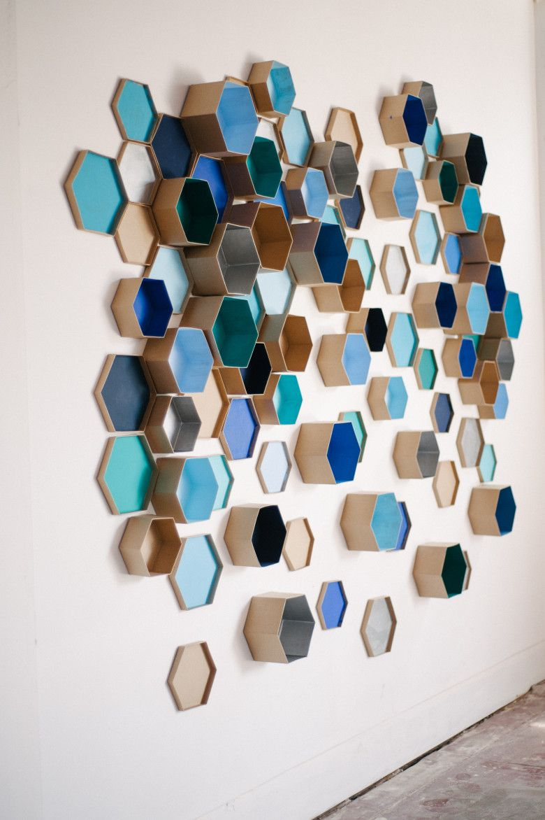Best Free 3d Room Design Software: DIY Accent Wall: 3D Geometric Wall Art For The Nursery