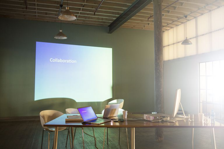 Laptop with Projector