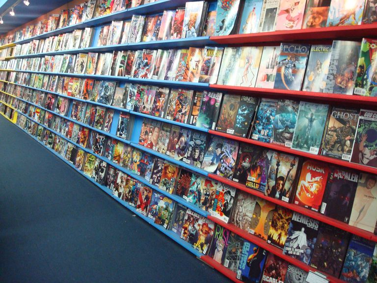 Getting to know comic books