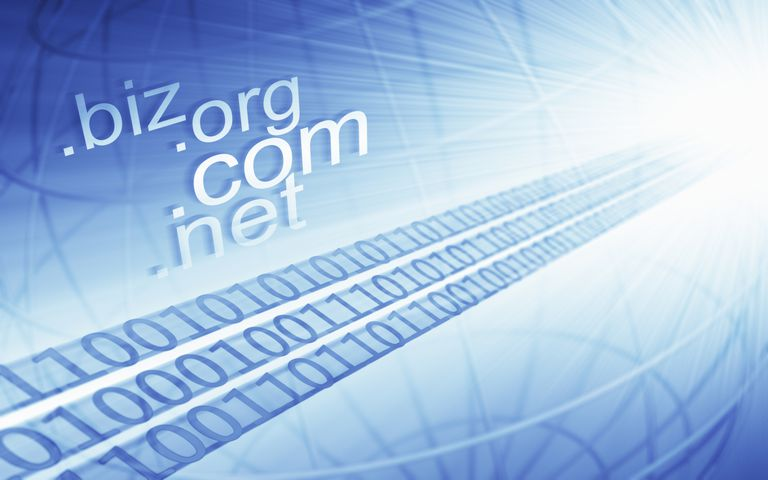 Domain name illustration