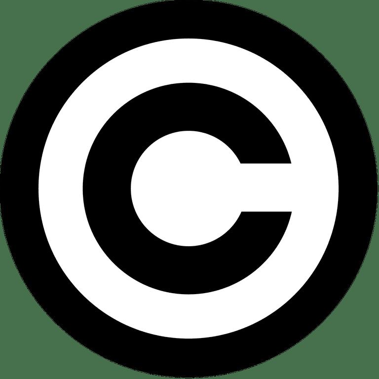 Copyright Symbol Windows Selol Ink