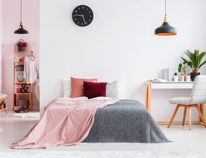 7 Pretty In Pink Bedrooms