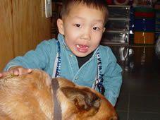 Deaf Chinese Boy