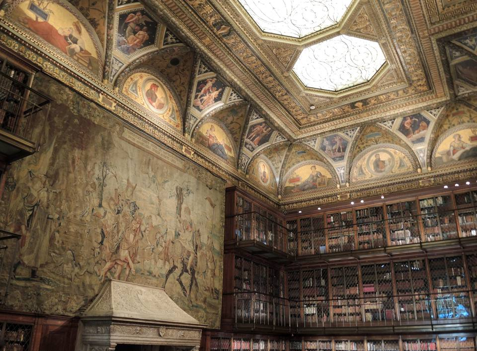 Ceiling of Morgan Library