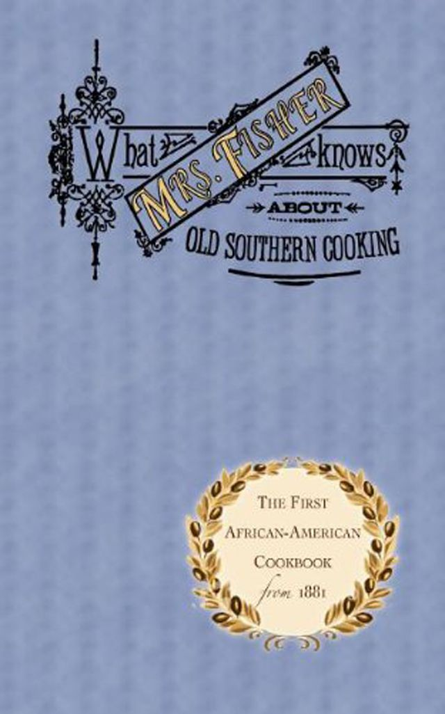 Mrs. Fisher's Cookbook cover.