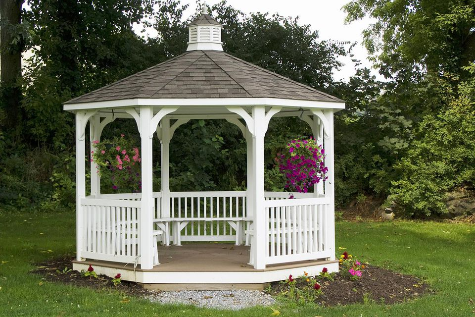 What is a gazebo used for for Built in gazebo