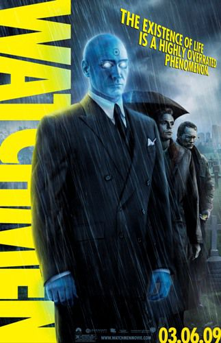Billy Crudup as Dr Manhattan in 'Watchmen.'