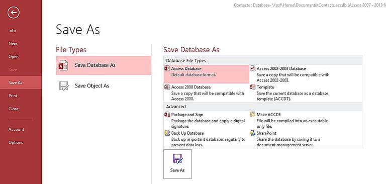 the steps involved in designing a microsoft access database Bucks county community college offers  an actual database, using the popular microsoft access  and the steps involved in designing a database.
