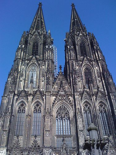 Cologne cathedral, Facade