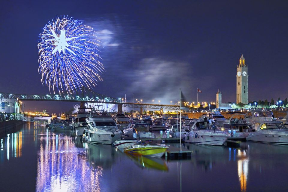 Where to watch fireworks in Montreal for free? Try these 9 amazing spots.