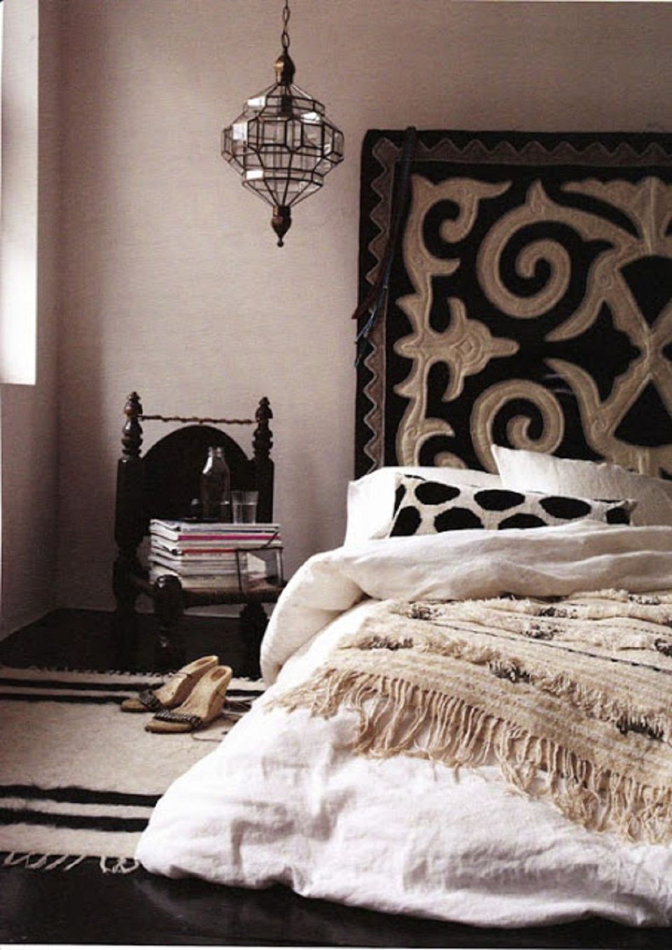 Beautiful boho bedroom decorating ideas and photos for B and q bedroom ideas