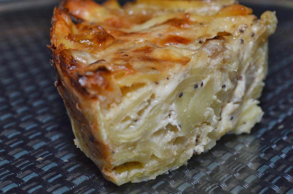 Onion kugel