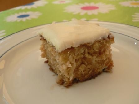Low Fat Pineapple Cake