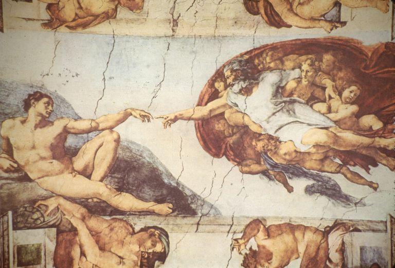 Michelangelo's 'Creation Of Adam'