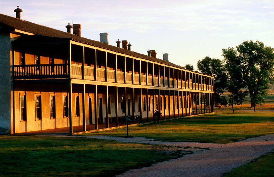 Cavalry Barracks at Fort Laramie National Historic Site