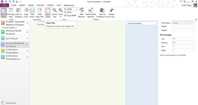 how to change word document to landscape on one page