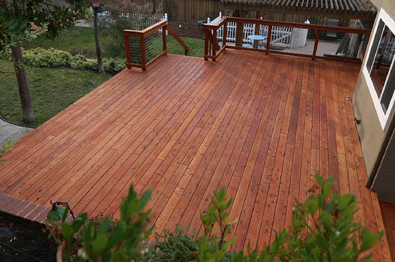 The best woods for decks and porches for B and q timber decking