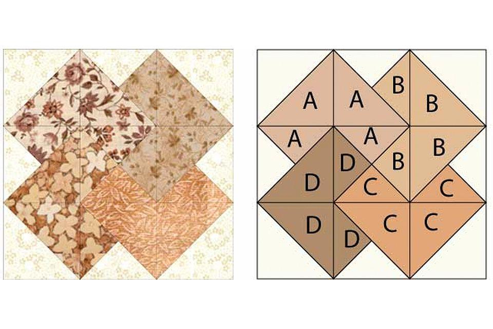 Easy Card Trick Quilt Pattern : card trick quilt block - Adamdwight.com