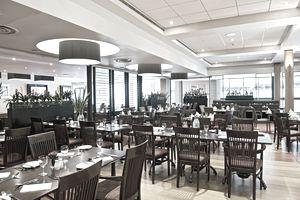 Modern restaurant in hotel