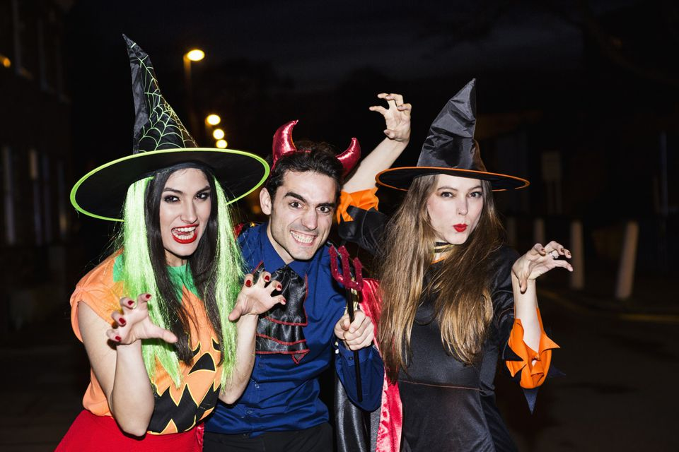 Halloween for adults in Reno, Nevada.