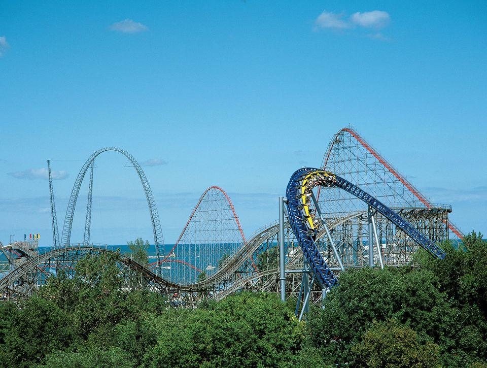 Cedar Point Roller Coasters