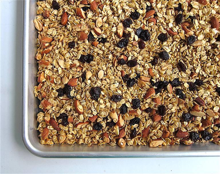 Almond and Buckwheat Homemade Granola