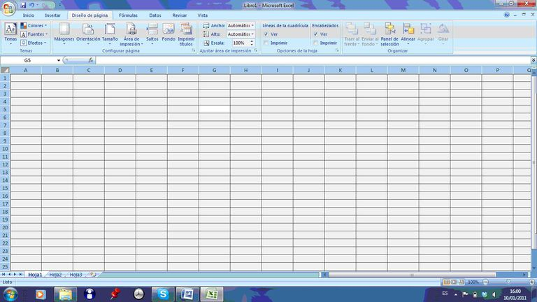 Test nivel Excel