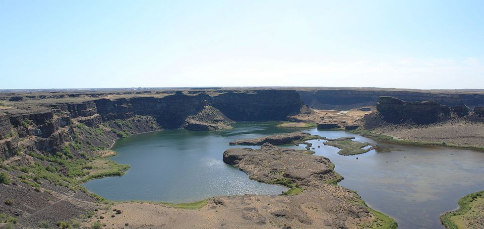 Dry Falls of the Grand Coulee