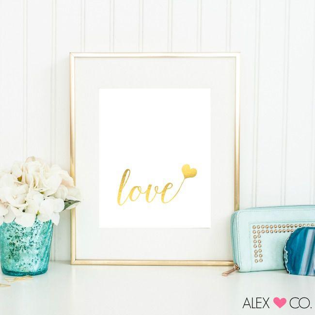 DIY Love Printable Art