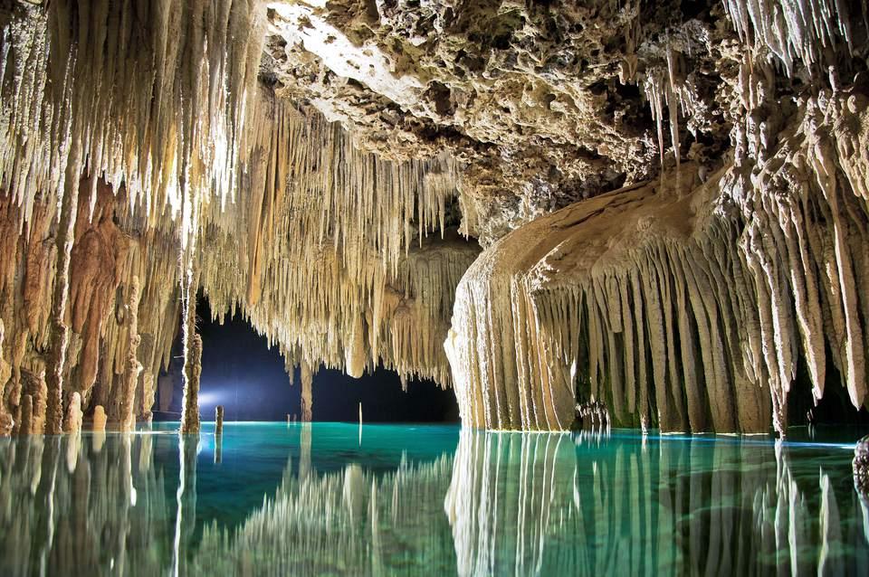 Rio Secreto Underground River Riviera Maya, Mexico