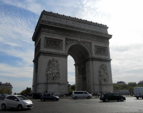 Arc de Triomphe - Paris - France