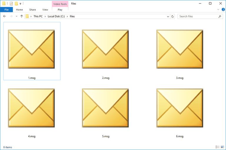MSG Files
