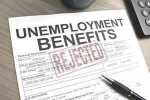 rejected unemployment