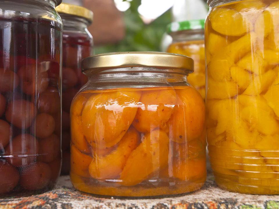 Home-made preserves