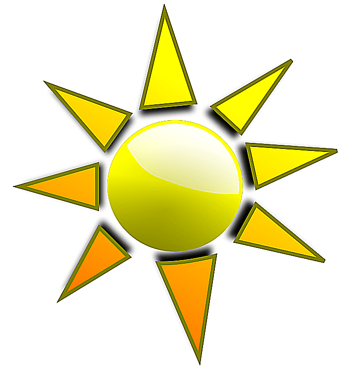 Free sun clip art to brighten your day for Free drawing websites no download