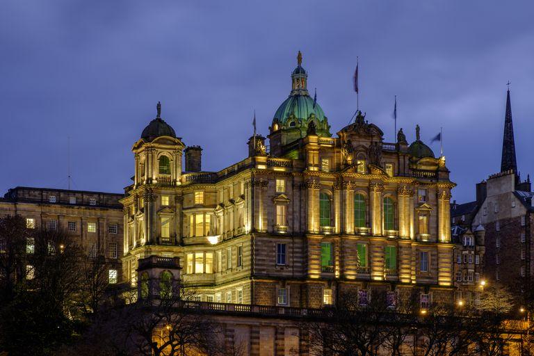 Scotland, Edinburgh, Bank of Scotland.