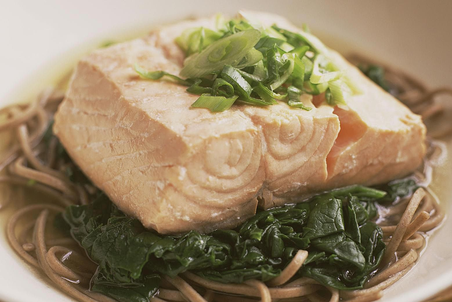 Easy recipe for roasted salmon fillets did you know you can cook salmon to tender perfection in the crockpot ccuart Gallery
