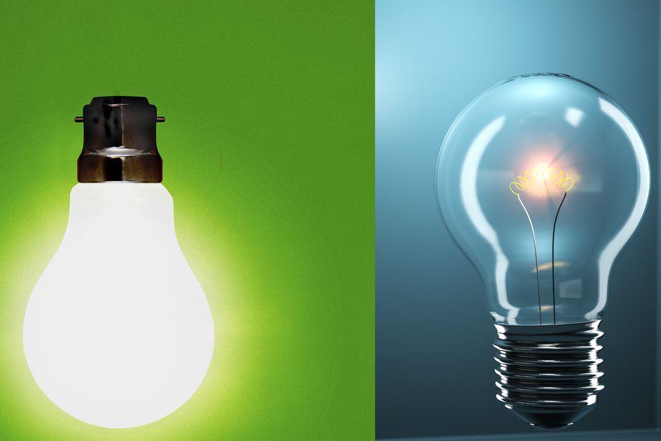 Lightbulbs - UK and Continental