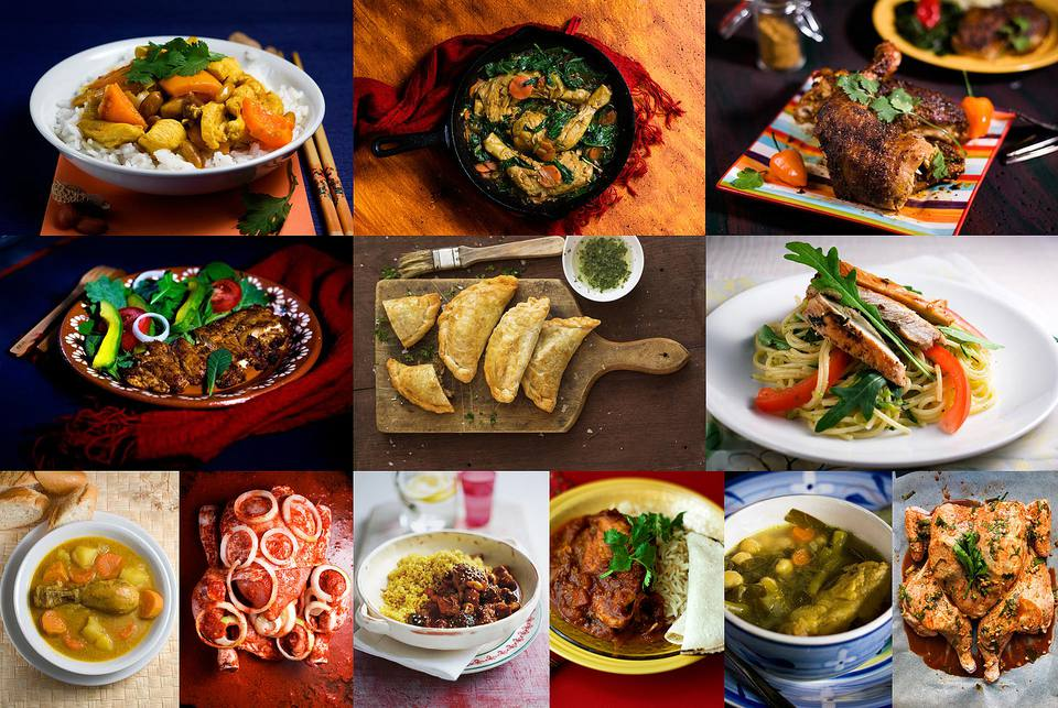12 Chicken Dinners