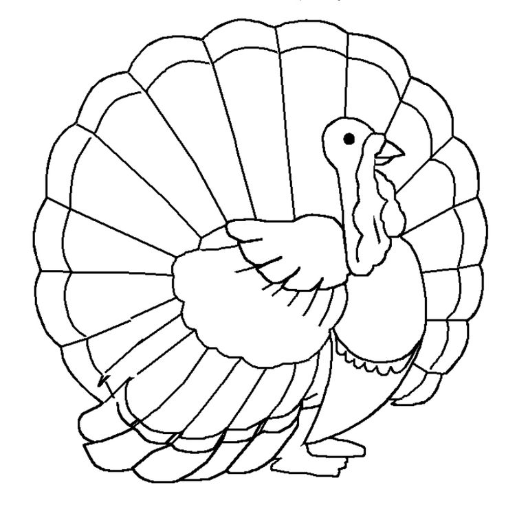 217 Thanksgiving Coloring Pages