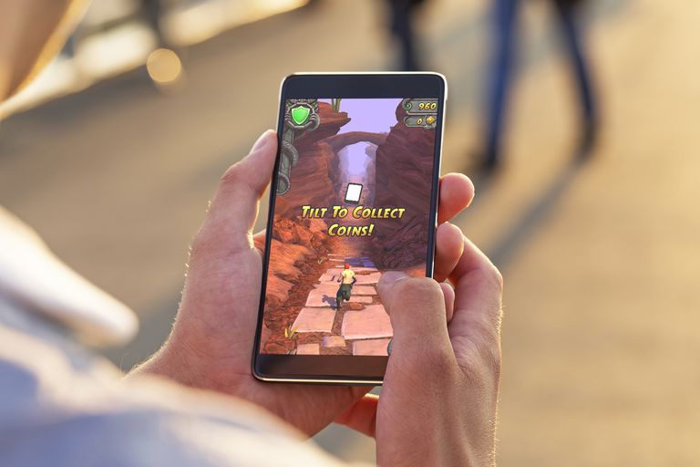 Temple Run 2 on iPhone