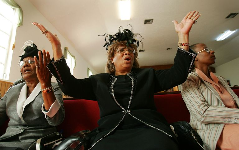 African-American Churchgoers