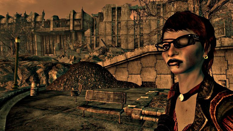 Scene from Fallout 3