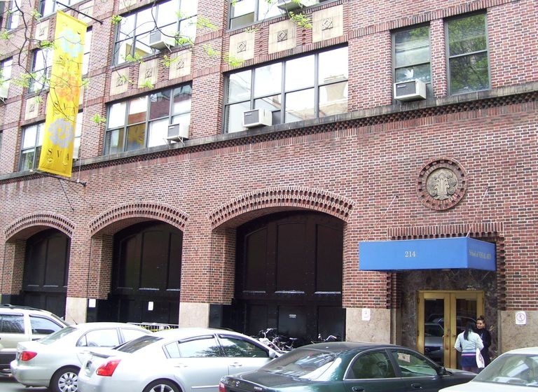 A building of the School of Visual Arts at 214 East 21st Street in Manhattan, New York City.